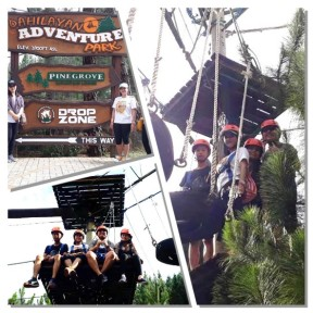 Dahilayan Rope Course Collage
